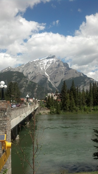 First day in Banff, 30 minutes later it decided to rain for the rest of the day. Its Tuesday and the GD is on Friday June 14th.