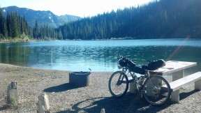 The beautiful Red Meadow Lake. I at lunch here, wish I could have stayed longer. My favorite lake on the entire Divide.
