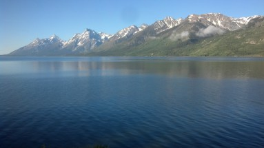 Jackson Lake! Beautiful section but lots of Tourons!