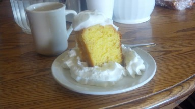 Amazing lemon cake in Atlantic City