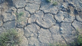Its dry out here in the Basin.